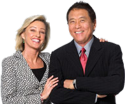 Robert Kiyosaki and Kim - Foto